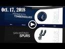 2018.10.17 NBA DAILY RECAP MIN @ SAS