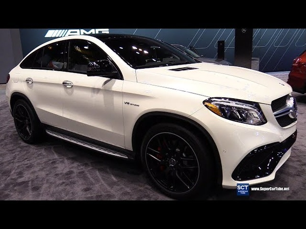 2018 Mercedes AMG GLE 63 S Coupe - Exterior and Interior Walkaround - 2018 Chicago Auto Show