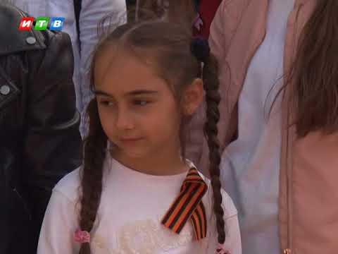 3 тысячи георгиевских лент раздали в Симферополе