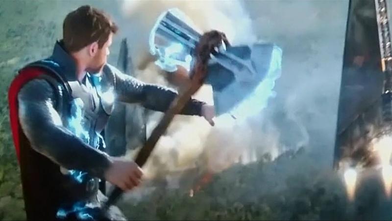 Тор,Скорбь,Месть. Мстители Война Бесконечности.2018.