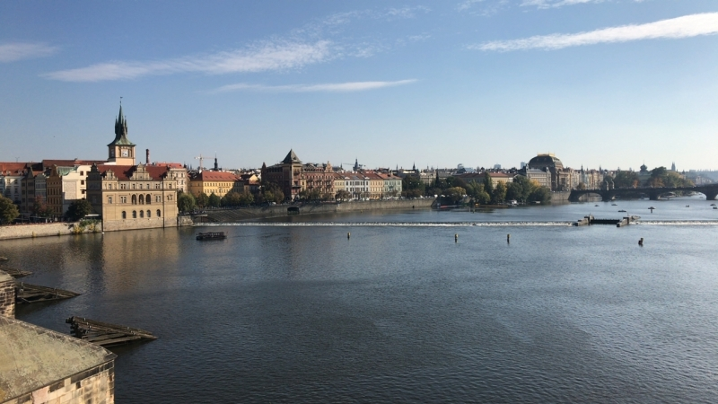 Карлов мост. Прага. Путь королей в Пражский град.
