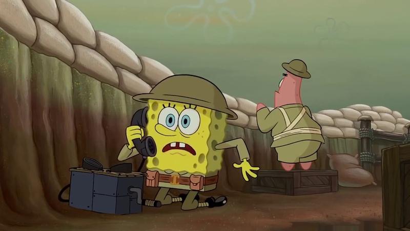 Спанч-Боб-Battlefield 1