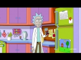 Simpsons Couch Gag Bit - Rick and Morty - Adult Swim
