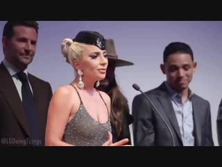 Lady Gaga saying 'there can be a hundred people in the room' for one minute straight.mp4