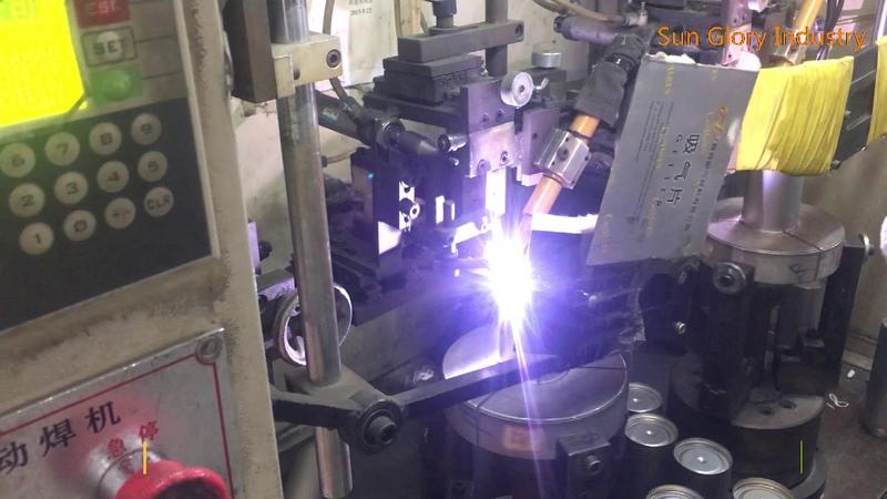 Vacuum flask welding process,bottom welding,mouth welding,argon welding or laser welding-SG18-2
