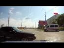 Видео с регистратора, на котором запечатлен момент аварии в Керчи