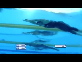 Michael phelps best race _ 49.82s 100m butterfly new world record wc rome 2009