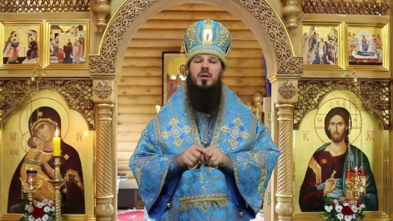 Архиерейское богослужение во Владимирском храме Кузнецка