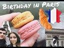 Эйфелева башня, Триумфальная арка, Laduree, мой день рождения!