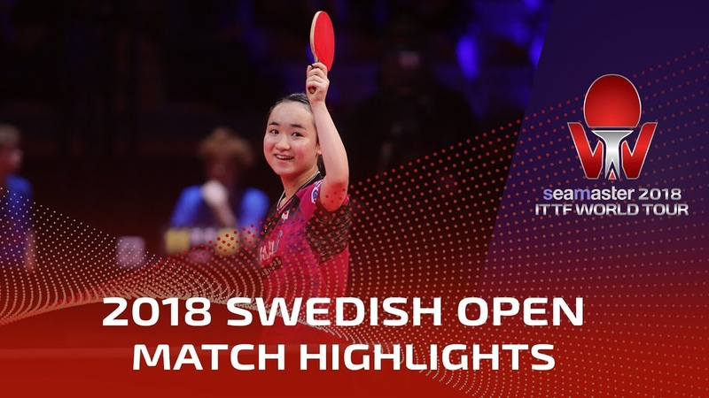 Ding Ning vs Mima Ito | 2018 ITTF Swedish Open Highlights (1/2)