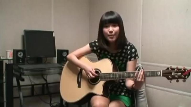 IU, кавер версия на песню SNSD - Gee