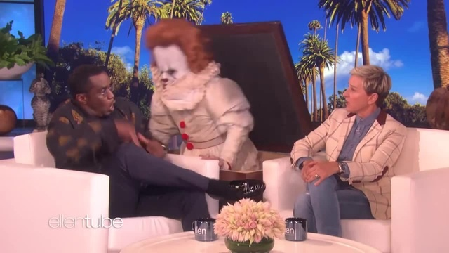 Sean 'Diddy' Combs Proves He's Scared of Clowns