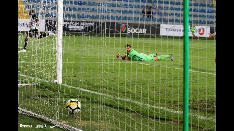 Нефтчи 2:1 Габала   Topaz Премьер-Лига 2018/19   2 тур