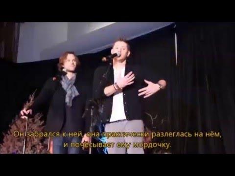 Забавная история о Джей Джей DCCon2016 рус суб