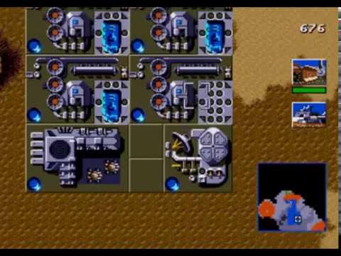Sega Mega Drive 2. Dune 2