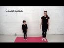 [Gym Balance] Разминка для детей перед тренировкой по гимнастике дома. Онлайн урок по художественной гимнастики