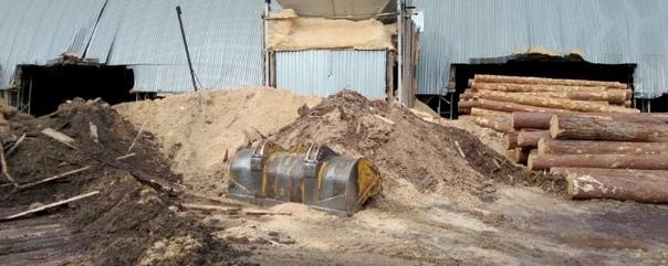 Загрязняющее воздух деревообрабатывающее предприятие закрыли в Усть-Илимске