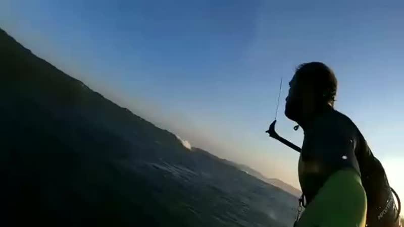 Surfing with Maurício Pedreira