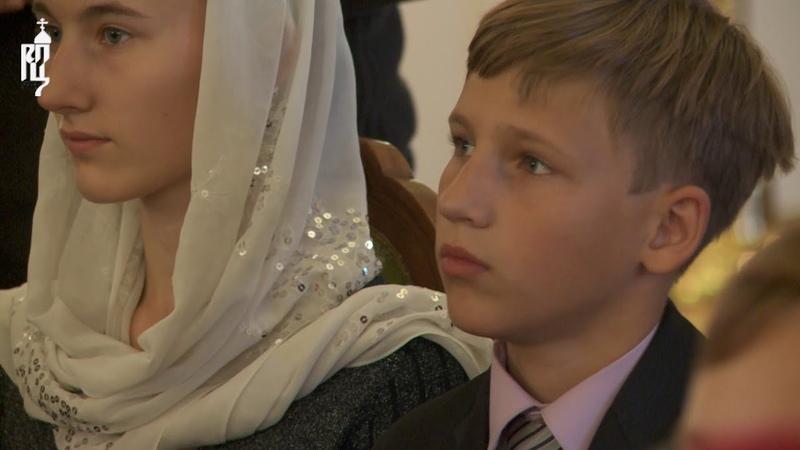Патриарх Кирилл встретился с победителями Всероссийской художественно-литературной олимпиады