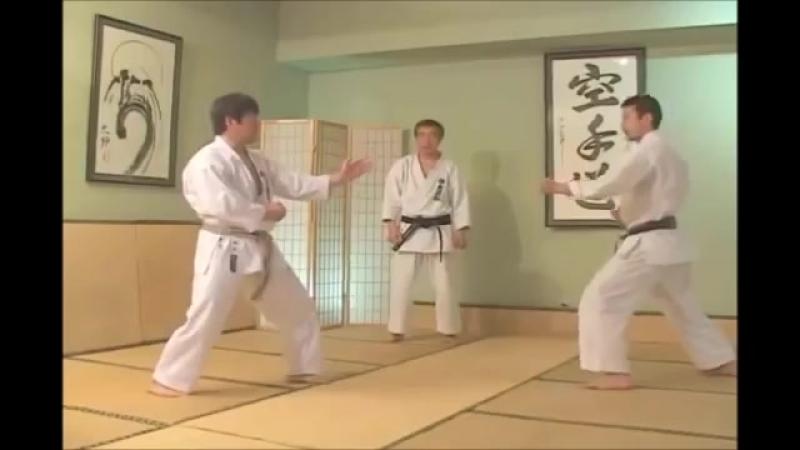 Jiyu-ippon-kumite_дзедан ои-цуки 5 вариант