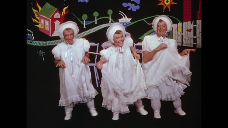 Triplets - Fred Astaire, Nanette Fabray and Jack Buchanan) Песенка тройняшек с ХФ Театральный фургон The Band Wagon (1953)