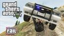 GTA V - Police Chase Fails