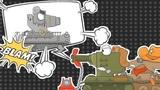 Спасти Ratte. Мультики про танки. 5 серия #worldoftanks #wot #танки httpwot-vod.ru