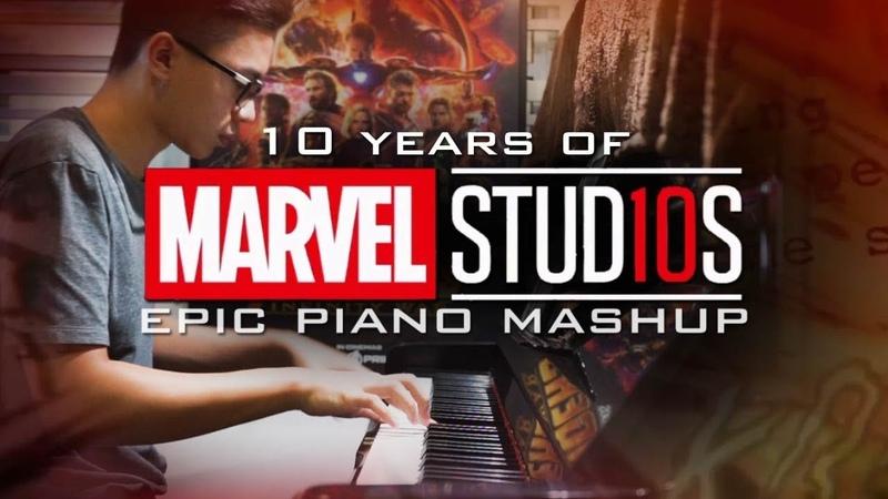 10 Years of Marvel Studios Epic Piano MashupMedley (Piano Cover)SHEETSMIDI