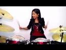 The Eagles Hotel California Drum Cover by Nur Amira Syahira