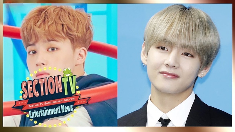Jimin and V of BTS Were Born in the Year of the Pig [Section TV News Ep 947]