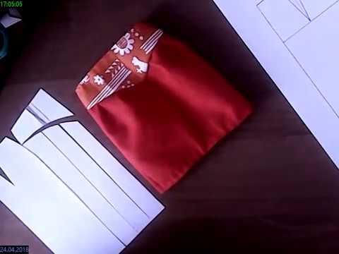 Простой способ выкроить юбку-тюльпан