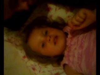 моя внученька Вероничка