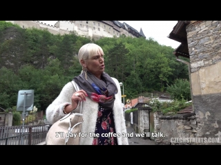 Daniela - tour-guide from karlstejn (czech streets 113) [all sex, public, pov, mature]