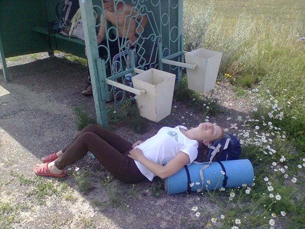 Алёна отдыхает  ©Мария Куница https://vk.com/id5974921