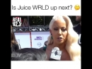 Amber Rose says that she listening a lot of Juice WRLD music