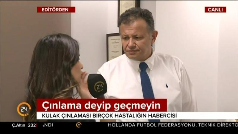 Prof. Dr. Çağlar Batman TV24 Konuğu Oldu.
