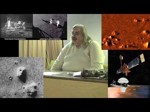Полёт американцев на луну, Марс, общественное мнение, пирамиды, сравнение снимков (Левашов Н.В.)