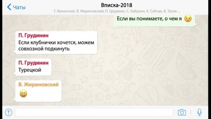вписка кандидатов в президенты РФ 😀😁