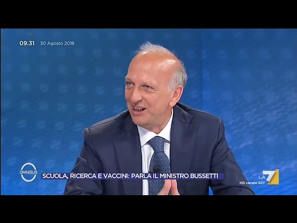 Maturità, Bussetti (Ministro dellIstruzione) Nel 2019 lesame di Stato cambierà