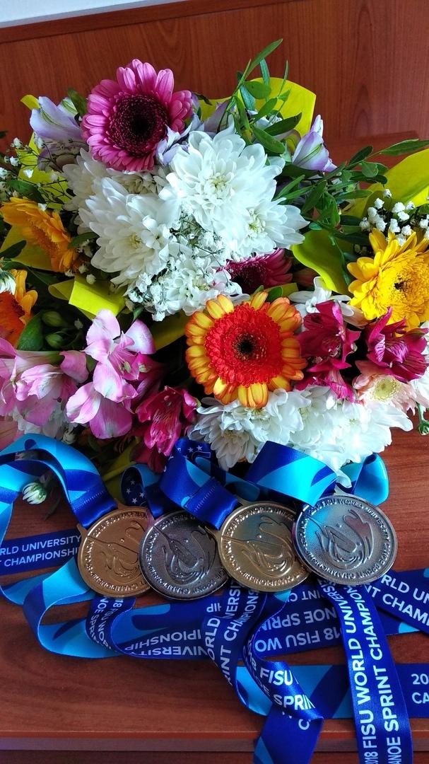 Брестские гребцы привезли из Венгрии 2 золотые и 3 серебряные медали