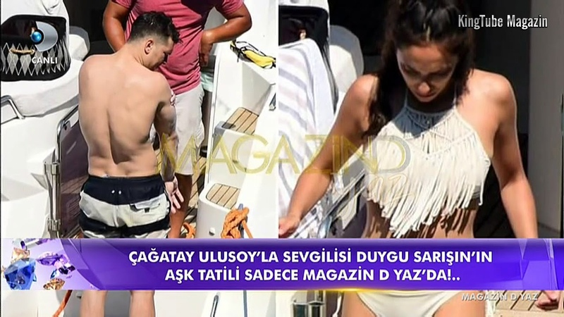 Çağatay Ulusoy sevgilisi Duygu Sarışın ile görüntülendi Magazin D Yaz 20 Haziran 2018