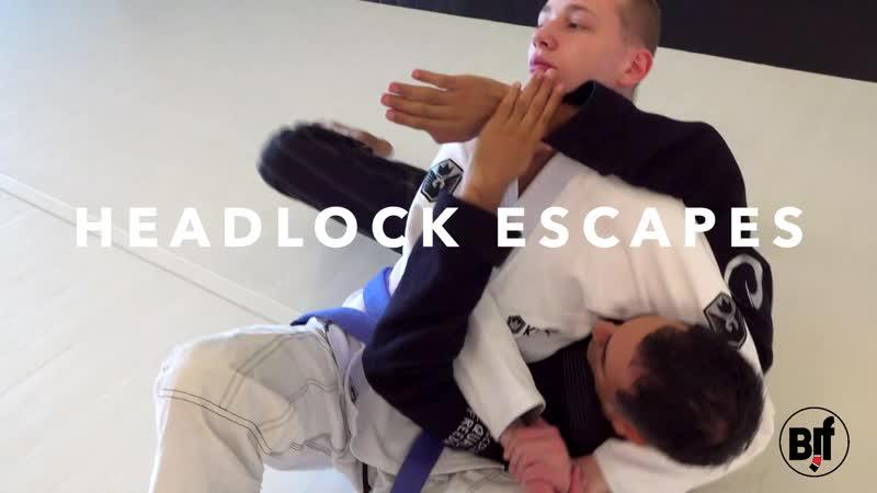 Roy Dean - more escapes from side control - mini bjf_seminar