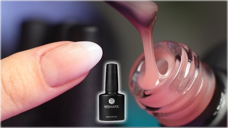 NATURAL Looking Nail Extensions | Builder Gel in a Bottle