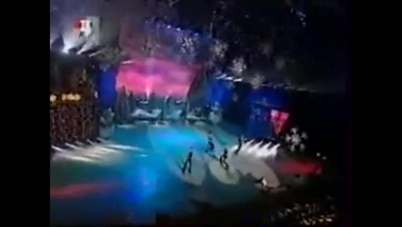 Блестящие - Белым снегом (ТВЦ, зима 2001-2002)