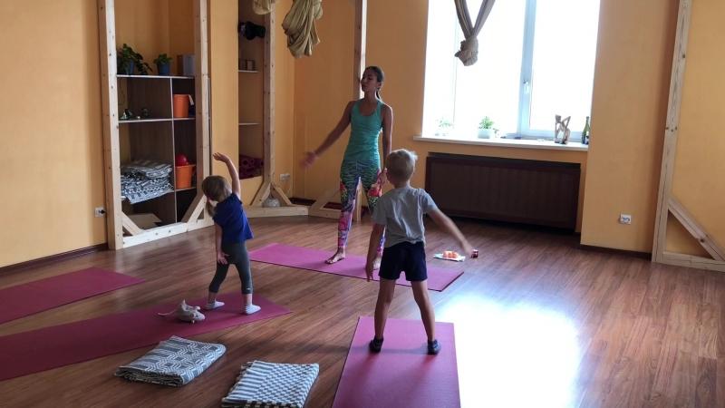 детская йога 3-5 лет