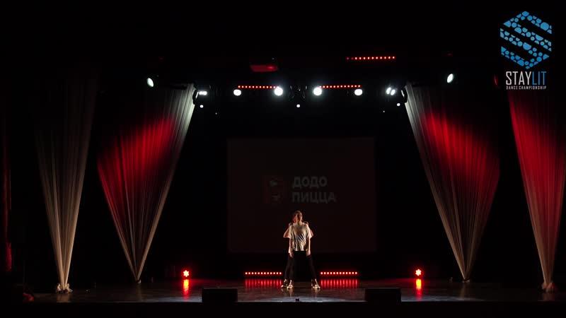 DAT GIRLS / Котельникова Саша и Закирова Эля (STAY LIT 2018   DANCE SHOW ПРОФИ   DUET)
