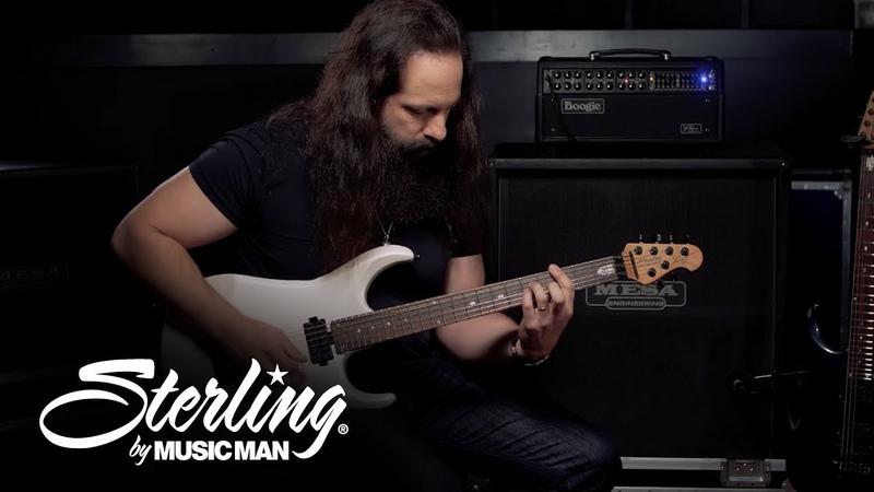 John Petrucci Demos His Sterling by Music Man JP160