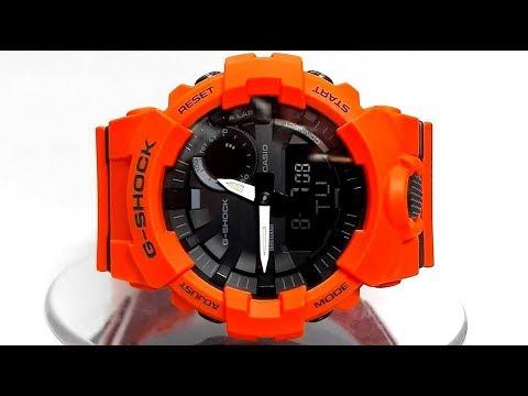 Casio G-Shock GBA-800-4A Bluetooth Step tracker watch video 2018