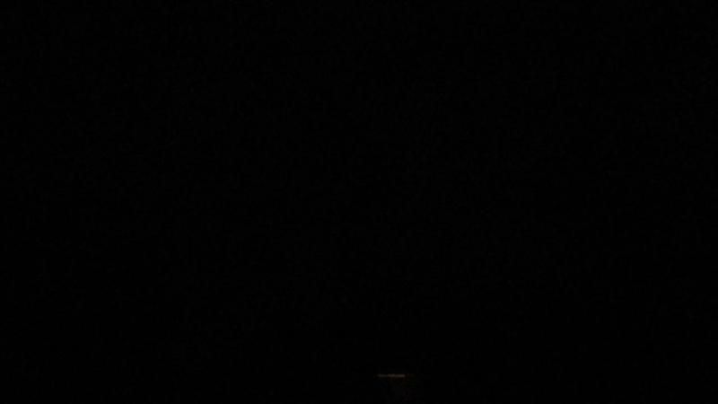 Гроза в темноте. В Устье-Кубенском районе у деда Играя. ВидеоМИГ