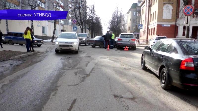 Обзор аварий. Сбили пешехода на ул. Некрасова. 17.04.2018